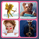4 Pics 1 Song (Game Circus): Group 55 Level 16 Answer