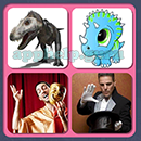 4 Pics 1 Song (Game Circus): Group 59 Level 6 Answer