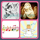 4 Pics 1 Song (Game Circus): Group 6 Level 1 Answer