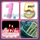 4 Pics 1 Song (Game Circus): Group 60 Level 11 Answer