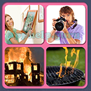 4 Pics 1 Song (Game Circus): Group 60 Level 6 Answer
