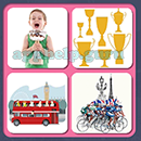 4 Pics 1 Song (Game Circus): Group 62 Level 8 Answer