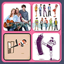4 Pics 1 Song (Game Circus): Group 65 Level 7 Answer