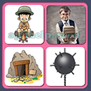 4 Pics 1 Song (Game Circus): Group 68 Level 11 Answer