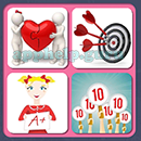4 Pics 1 Song (Game Circus): Group 72 Level 14 Answer