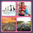 4 Pics 1 Song (Game Circus): Group 73 Level 12 Answer