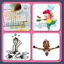 4 Pics 1 Song (Game Circus): Group 73 Level 2 Answer