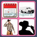4 Pics 1 Song (Game Circus): Group 74 Level 8 Answer