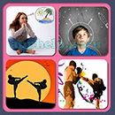 4 Pics 1 Song (Game Circus): Group 75 Level 1 Answer