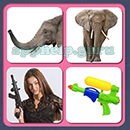 4 Pics 1 Song (Game Circus): Group 75 Level 2 Answer