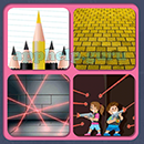 4 Pics 1 Song (Game Circus): Group 75 Level 5 Answer
