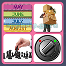 4 Pics 1 Song (Game Circus): Group 77 Level 4 Answer
