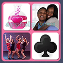 4 Pics 1 Song (Game Circus): Group 77 Level 6 Answer