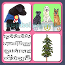 4 Pics 1 Song (Game Circus): Group 79 Level 3 Answer