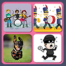 4 Pics 1 Song (Game Circus): Group 8 Level 6 Answer