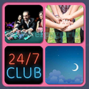 4 Pics 1 Song (Game Circus): Group 83 Level 3 Answer