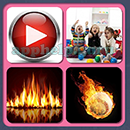 4 Pics 1 Song (Game Circus): Group 84 Level 14 Answer