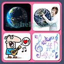 4 Pics 1 Song (Game Circus): Group 84 Level 3 Answer