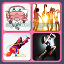 4 Pics 1 Song (Game Circus): Group 99 Level 10 Answer