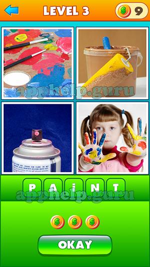 4 Pics 1 Word 2 3