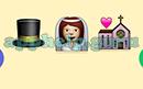 Emoji Combos: Emojis Top Hat, Bride, Church Answer