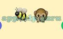 Emoji Combos: Emojis Bee, Quiet Answer