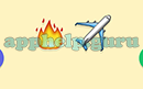 Emoji Combos: Emojis Fire, Airplane Answer