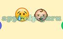 Emoji Combos: Emojis Crying, Baby Answer