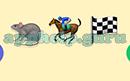 Emoji Combos: Emojis Rat, Horseback Riding, Checkered Flag Answer