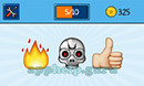 EmojiNation: Emojis Fire, Robot, Thumbs Up Answer