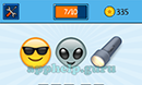 EmojiNation: Emojis Smiley with Sunglasses, Alien, Torch Answer