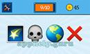 EmojiNation: Emojis Star, Skull, Earth, X Answer