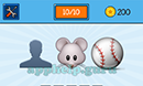 EmojiNation: Emojis Shadow, Mouse, Baseball Answer