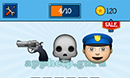 EmojiNation: Emojis Gun, Skull, Police Answer