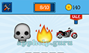 EmojiNation: Emojis Skull, Fire, Motorcycle Answer