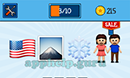 EmojiNation: Emojis Flag, Mountain, Snowflake, Couple Answer