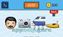 EmojiNation: Emojis Statue, Fire, Rocket, Alien Answer