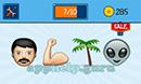 EmojiNation: Emojis Shadows, Thumbs Up, Gun, Pill Answer