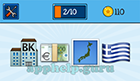 EmojiNation: Emojis Bank, Euros, Island, Greek Flag  Answer