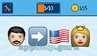 EmojiNation: Emojis Man, Arrow, USA Flag, Princess Answer
