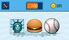 EmojiNation: Emojis Statue, Burger, Baseball Answer