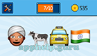 EmojiNation: Emojis Turban Man, Cow, Taxi, Indian Flag  Answer