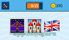EmojiNation: Emojis Bridge, Castle, Union Jack  Answer