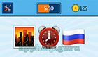 EmojiNation: Emojis City, Time, Russian Flag  Answer