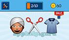 EmojiNation: Emojis Turban Man, Scissors, Shirt  Answer