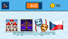 EmojiNation: Emojis Castle, Bridge, Masks, Czech Flag  Answer