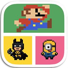 Guess Pixel Character Quiz