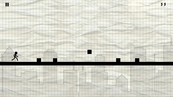 Quickly Jump Over And Roll Through Obstacles With Your Stickman As