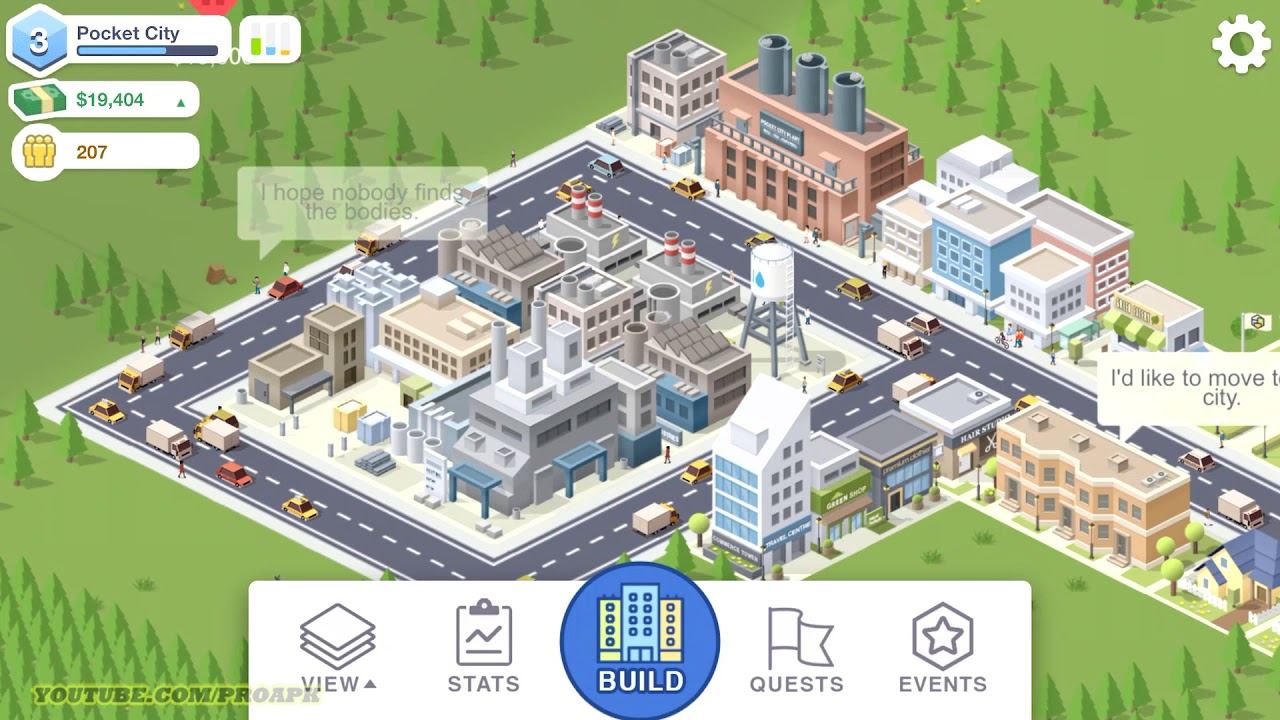 Pocket City Screenshot 2