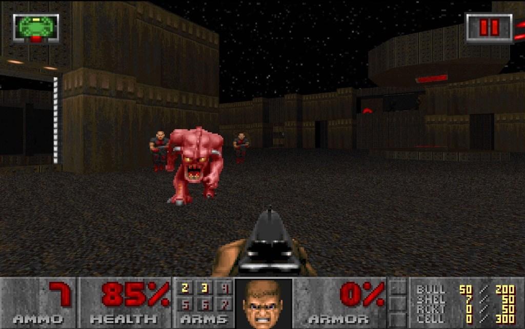 DOOM Screenshot 2